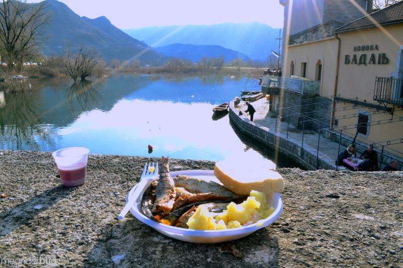 a delicious festival meal, Virpazar