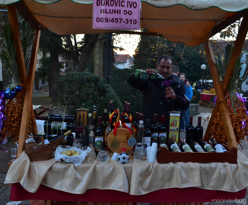 Wine sampling Virpazar