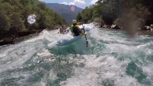 Rafting, kayaking, and hydrospeeding on Tara River