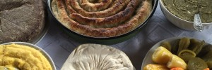 Traditional, organic food from northern Montenegro