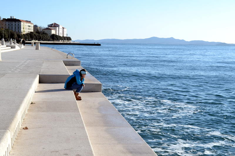 The Sea Organ in Zadar's Sea Organ is mesmerizing for kids - meanderbug
