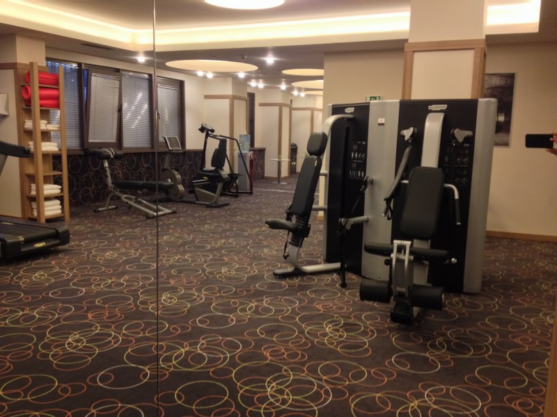 Suite Hotel Sofia Fitness Room