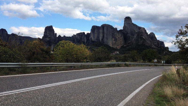 Meteora on the Mediterranean Route-EuroVelo 8