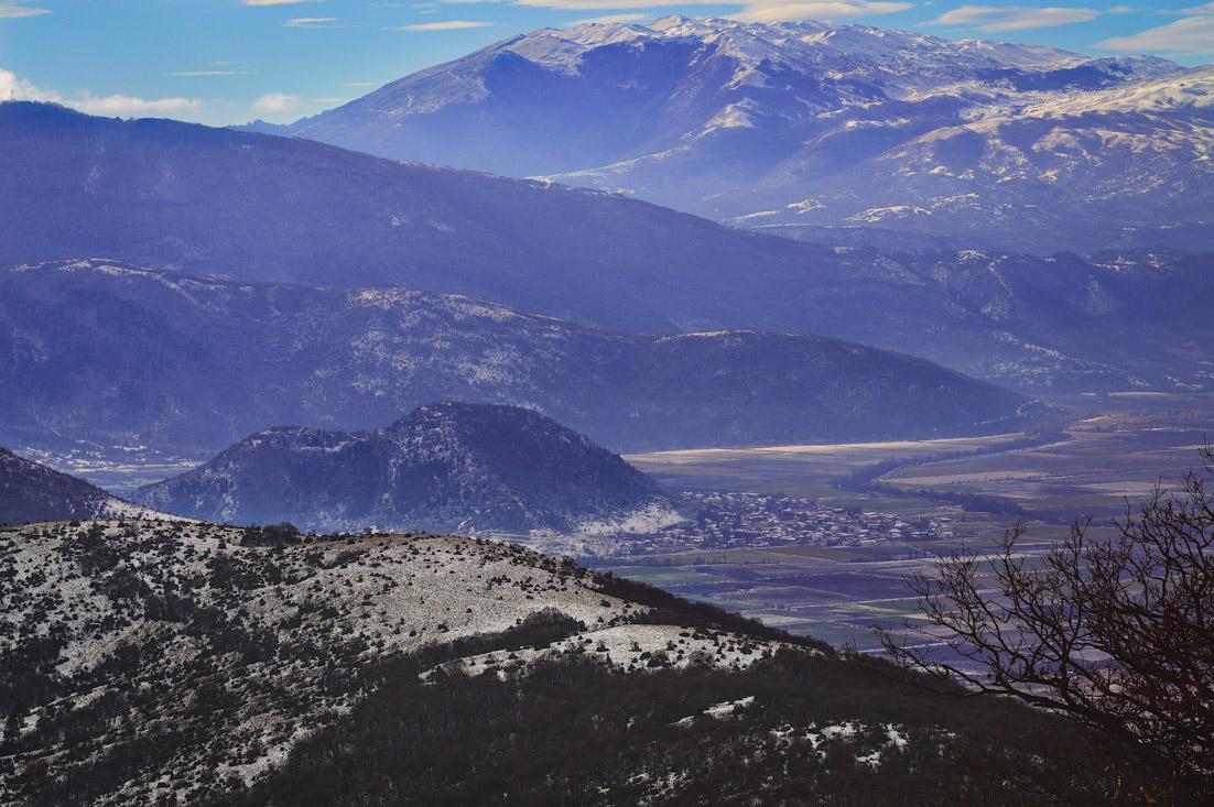 Frozen Peaks endurance marathon trail run in the Balkans