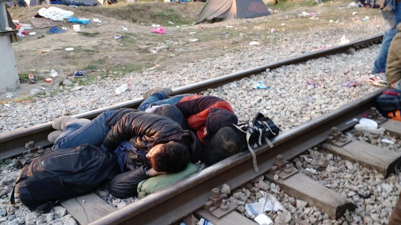RefugeeCampSleep