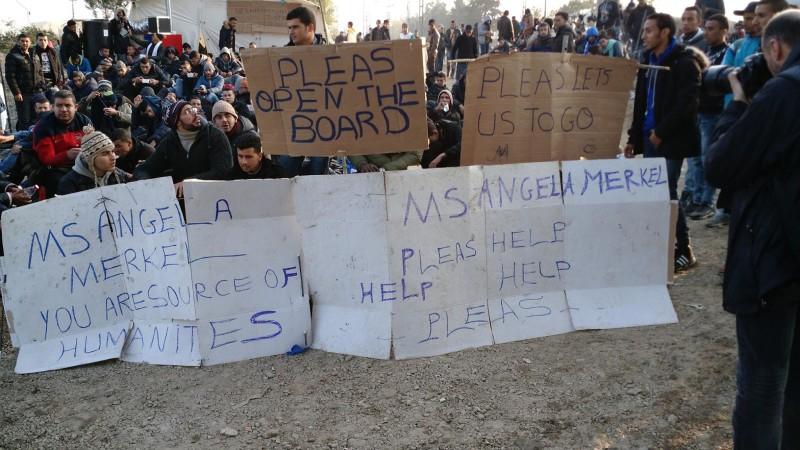RefugeeCampSigns