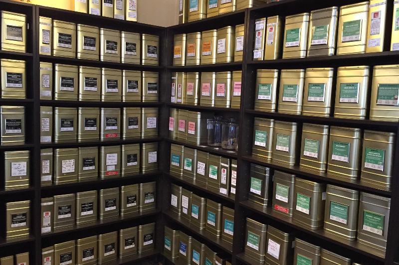 Tea selections