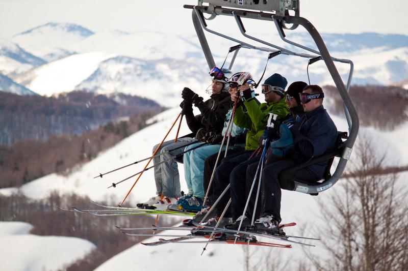 Ski lift Montenegro