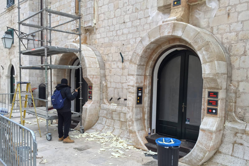 Star Wars Episode 8 set being built in Dubrovnik