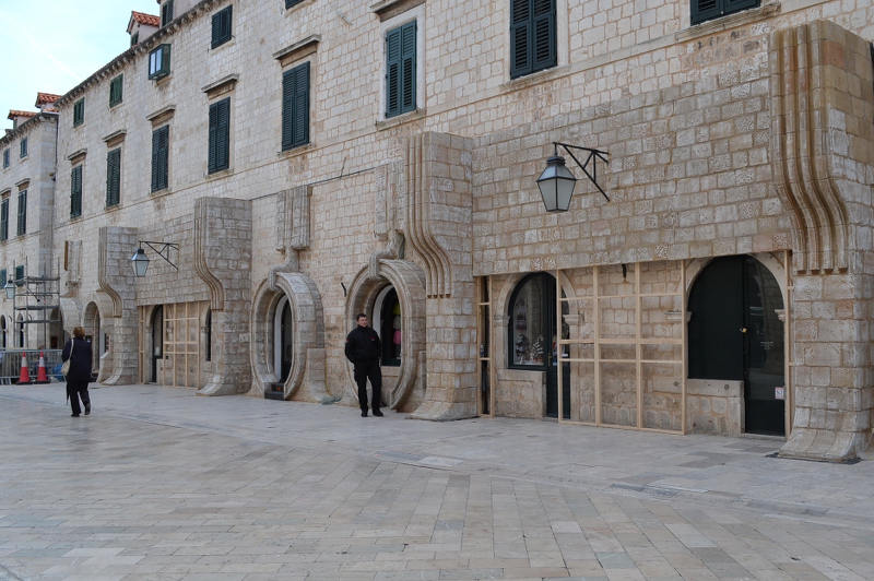 Star Wars set in Dubrovnik, Croatia