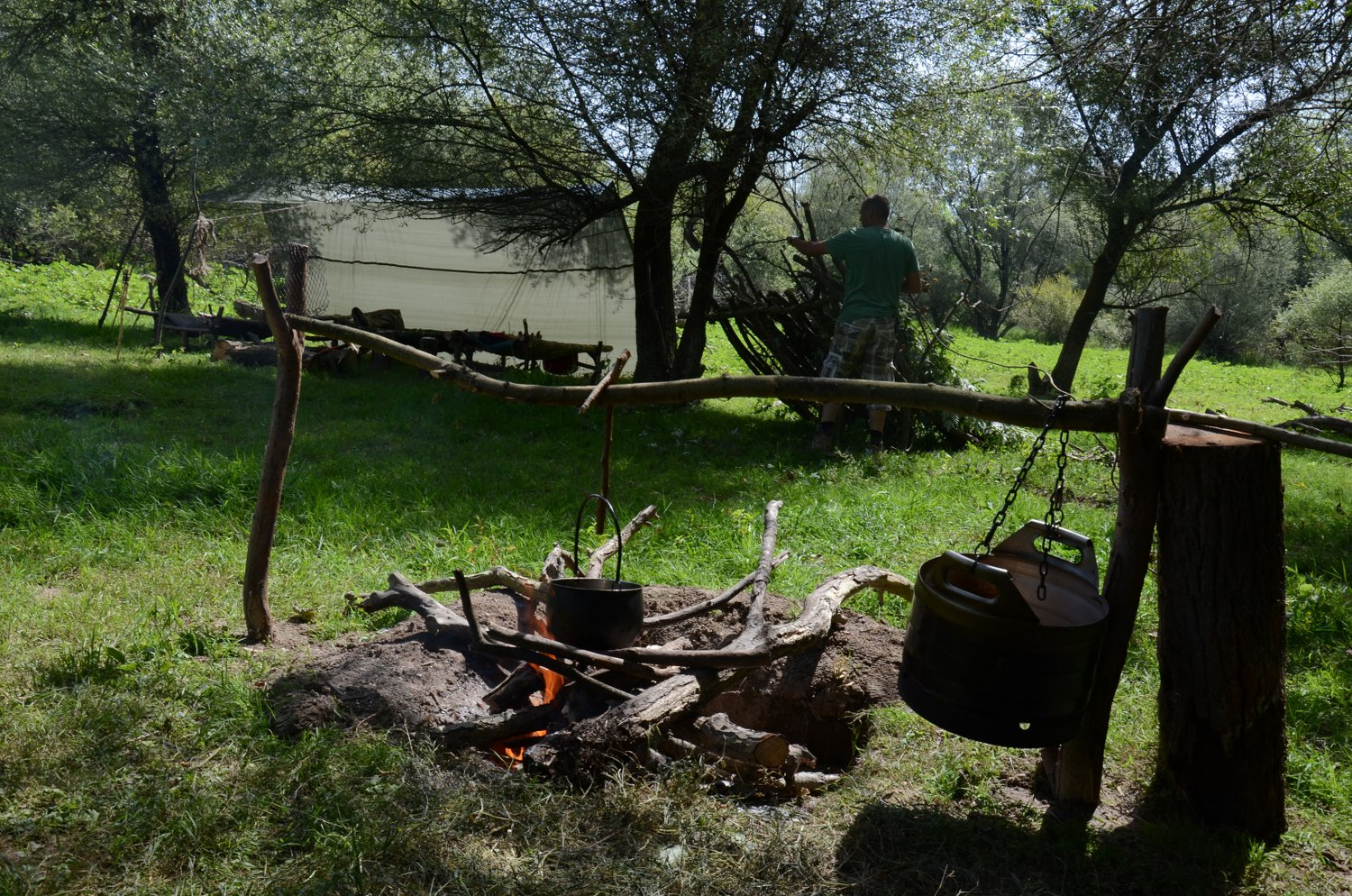 Bushcraft Scout Course - Lakes and Rivers - Montenegro - Meanderbug
