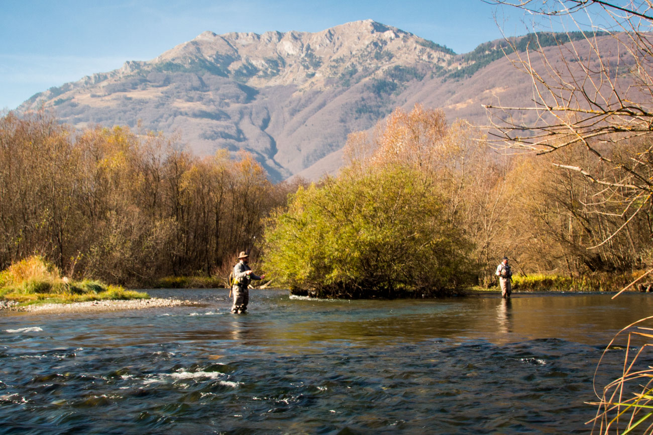 Fly fishing in Montenegro by district