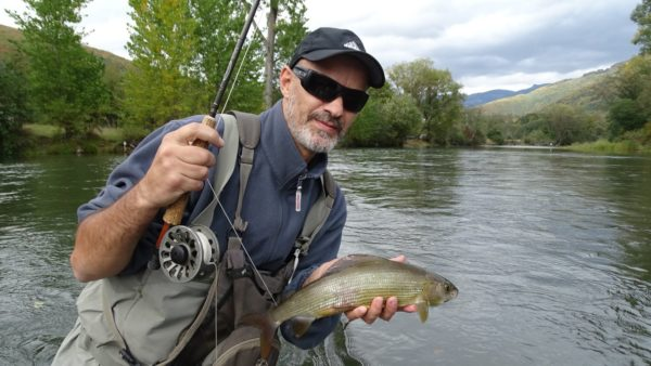 Fly fishing the Lim River in Montenegro