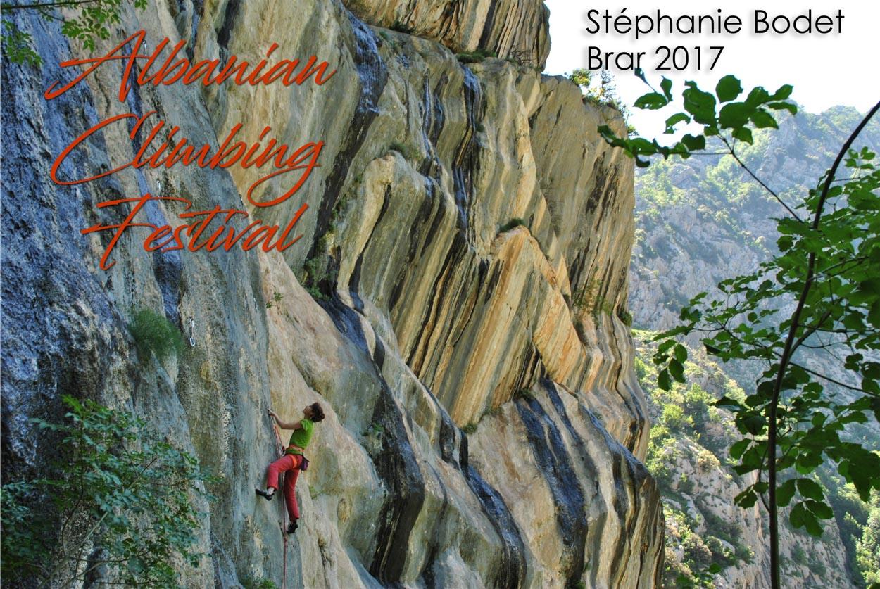 stephanie bodet climbing brar canyon
