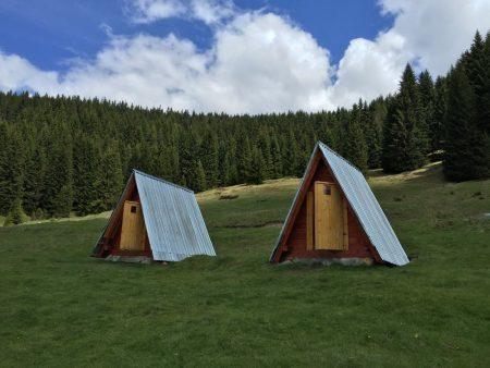 Bungalows in Prokletije National Park, Montenegro