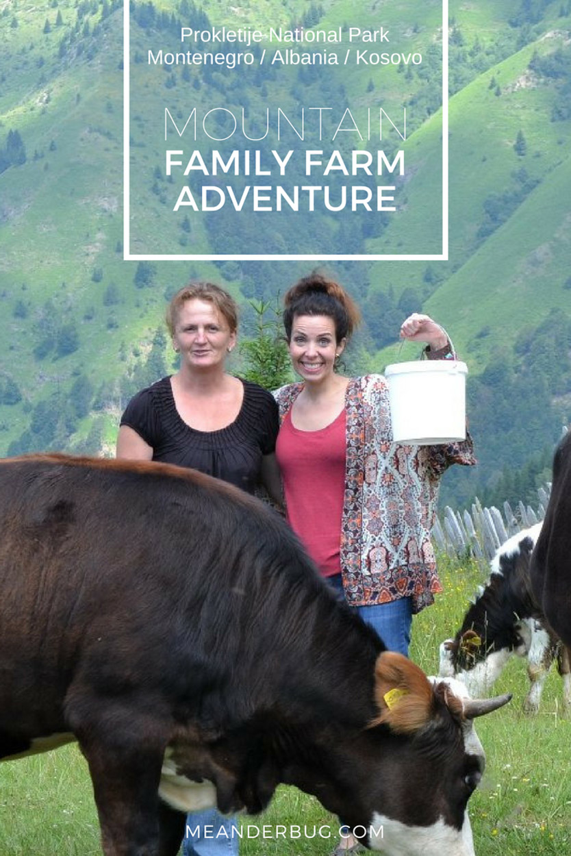 Mountain family farm adventure in Montenegro