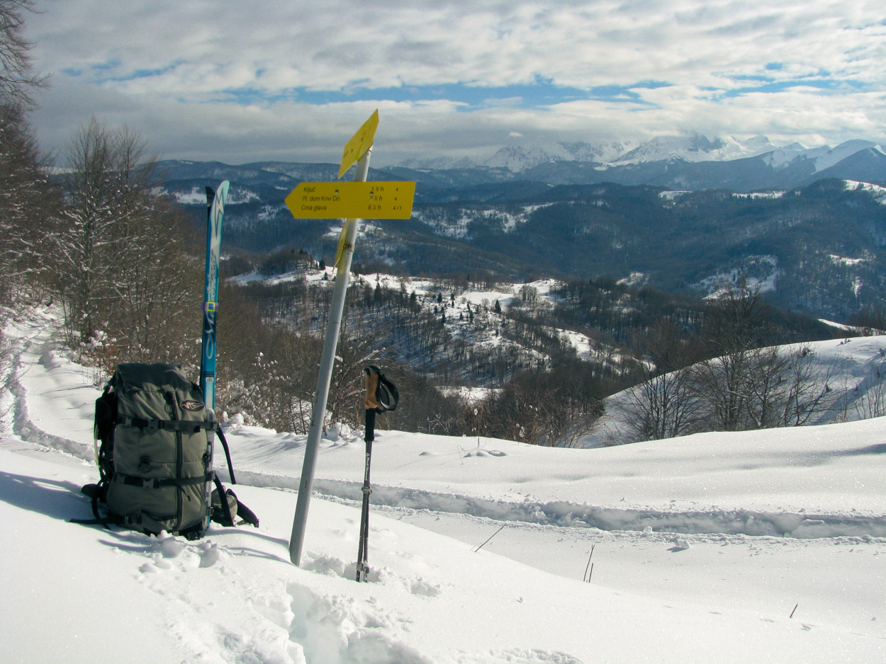 Multi-day cross country ski adventures in Montenegro