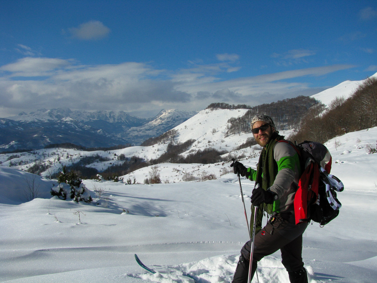 My cross country ski adventure in Montenegro