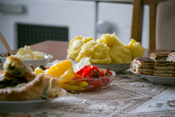 Organic slow food options common in the Montenegrin villages
