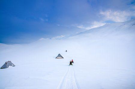 Snowmobiling mountain adventure in Montenegro
