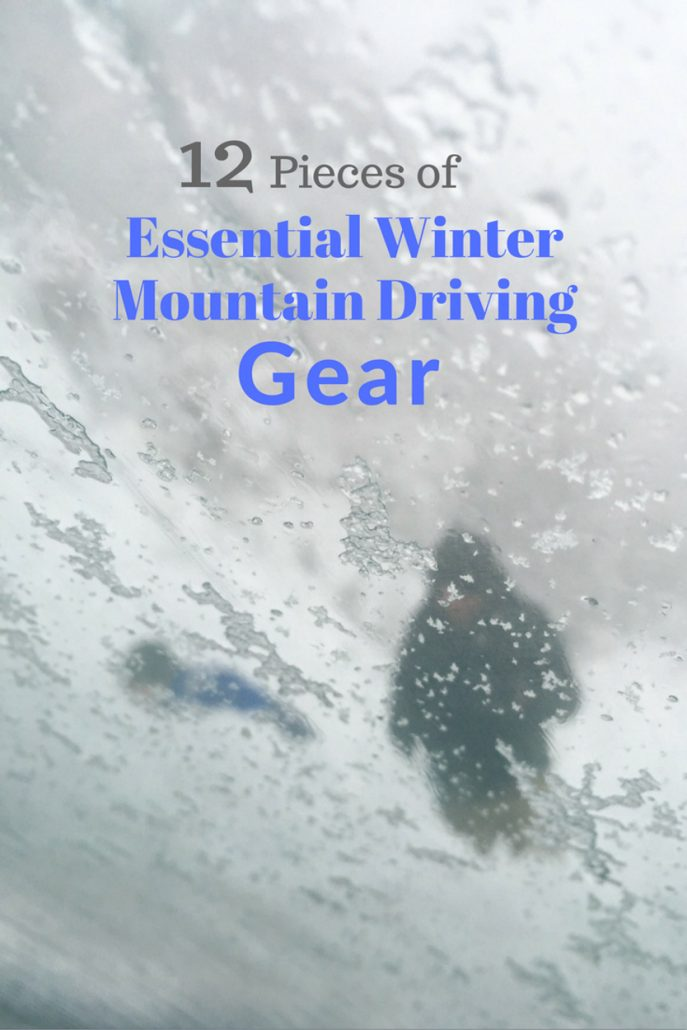 Essential Winter Mountain Driving Gear
