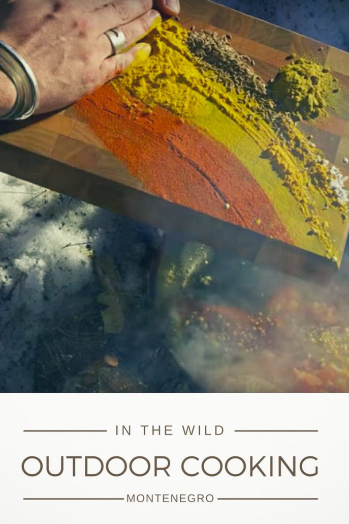 Cooking in the wild - a video series set in the nature of Montenegro