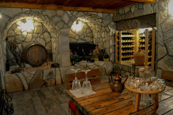 Micro winery in Vranac country