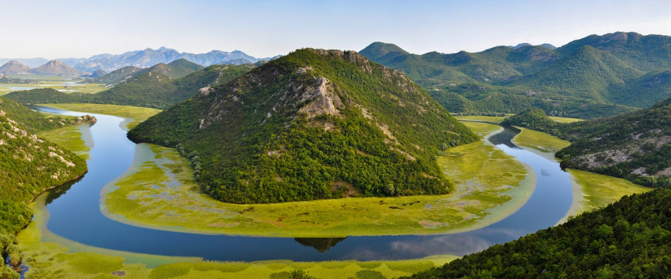Iconic photo spot of Skadar Lake