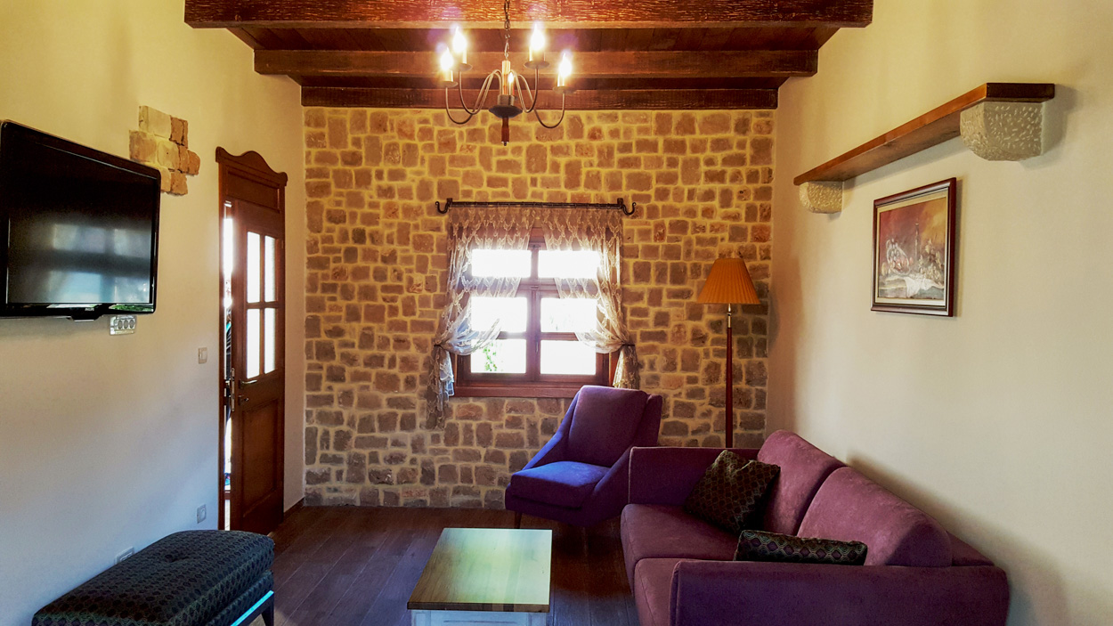 Cermeniza Villas at Lake Skadar - living area