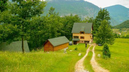 Tara Canyon Estate near Durmitor in Montenegro