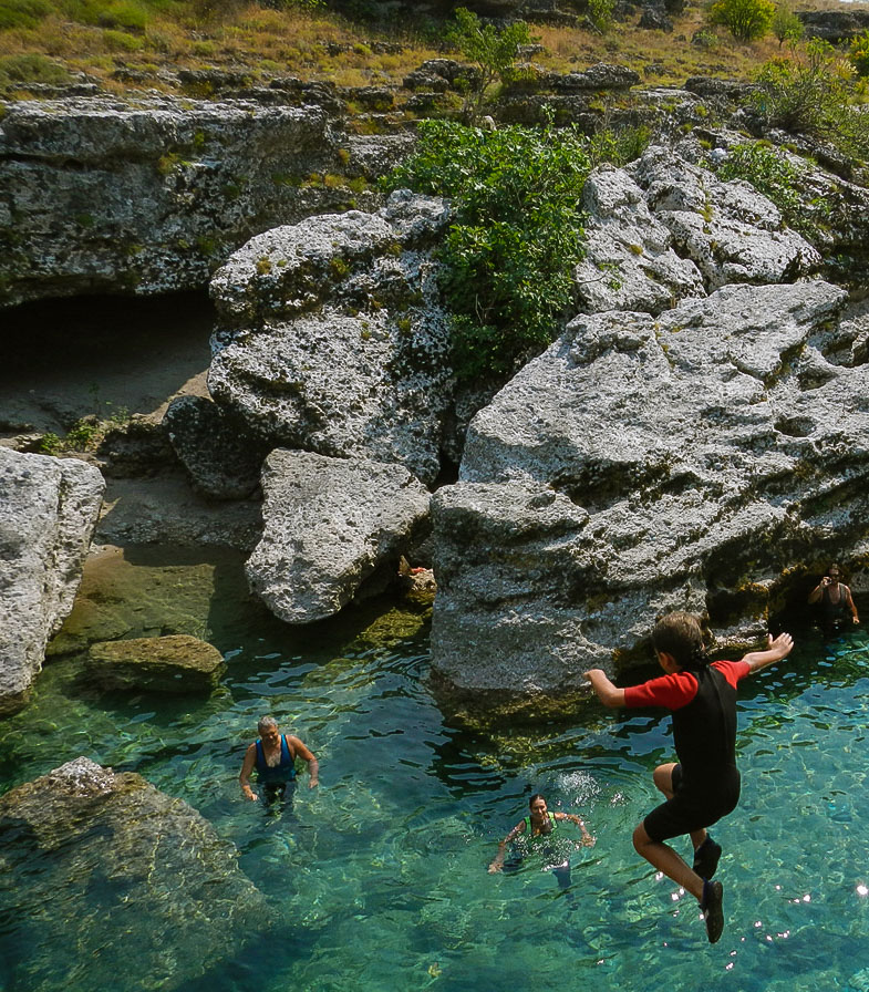 Family Canyoning At Stari Bar Montenegro Meanderbug