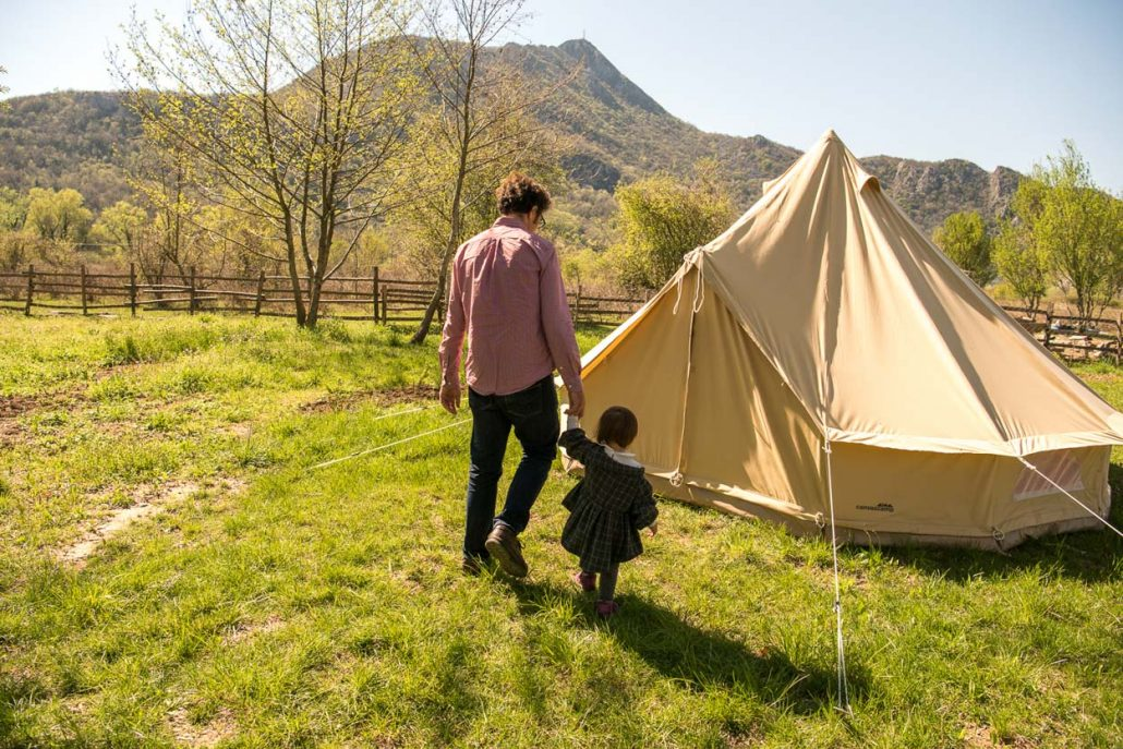 Family travel with Mountain glamping near Skadar Lake