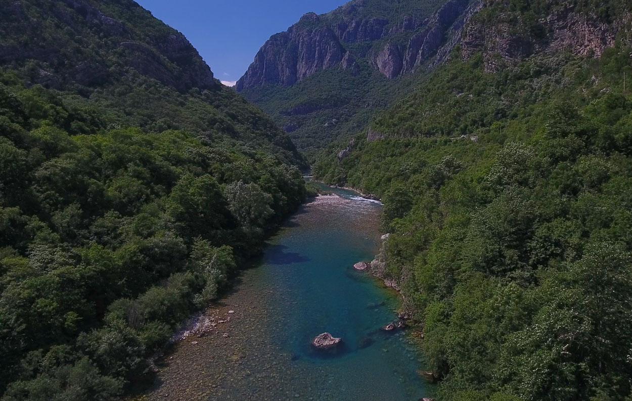 Moraca Canyon at Kupina Village