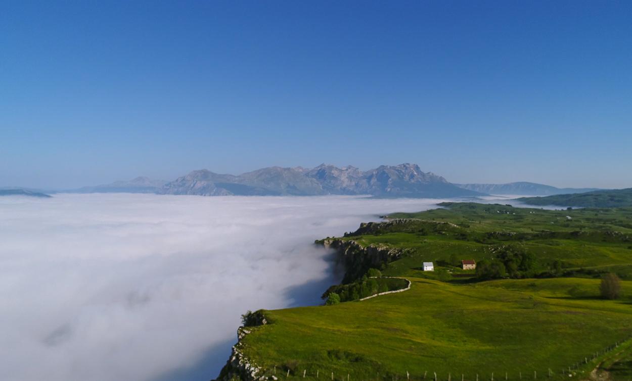 Piva Canyon, Piva Lake, Piva River, Lake of Clouds