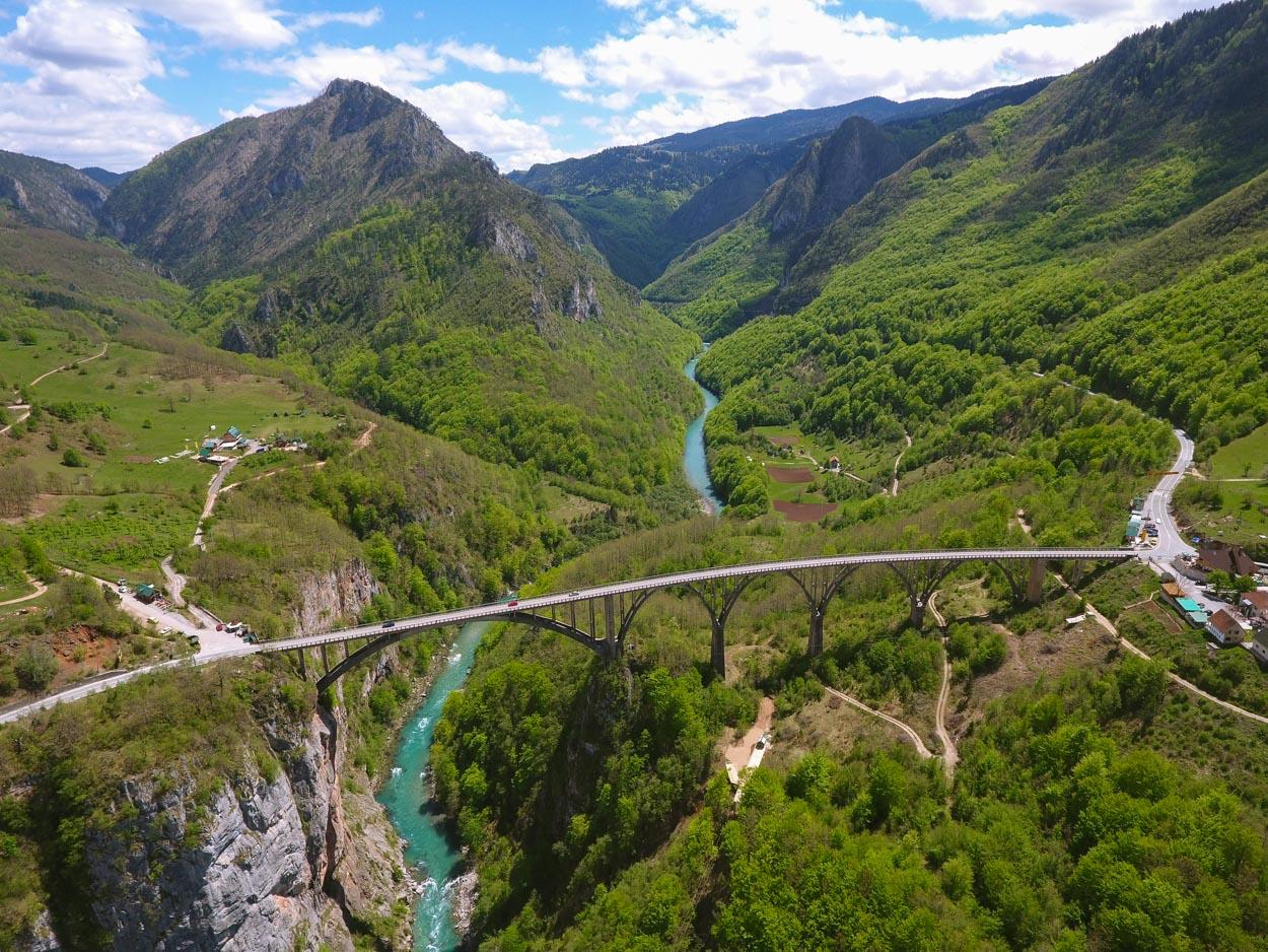 Tara Canyon Bridge