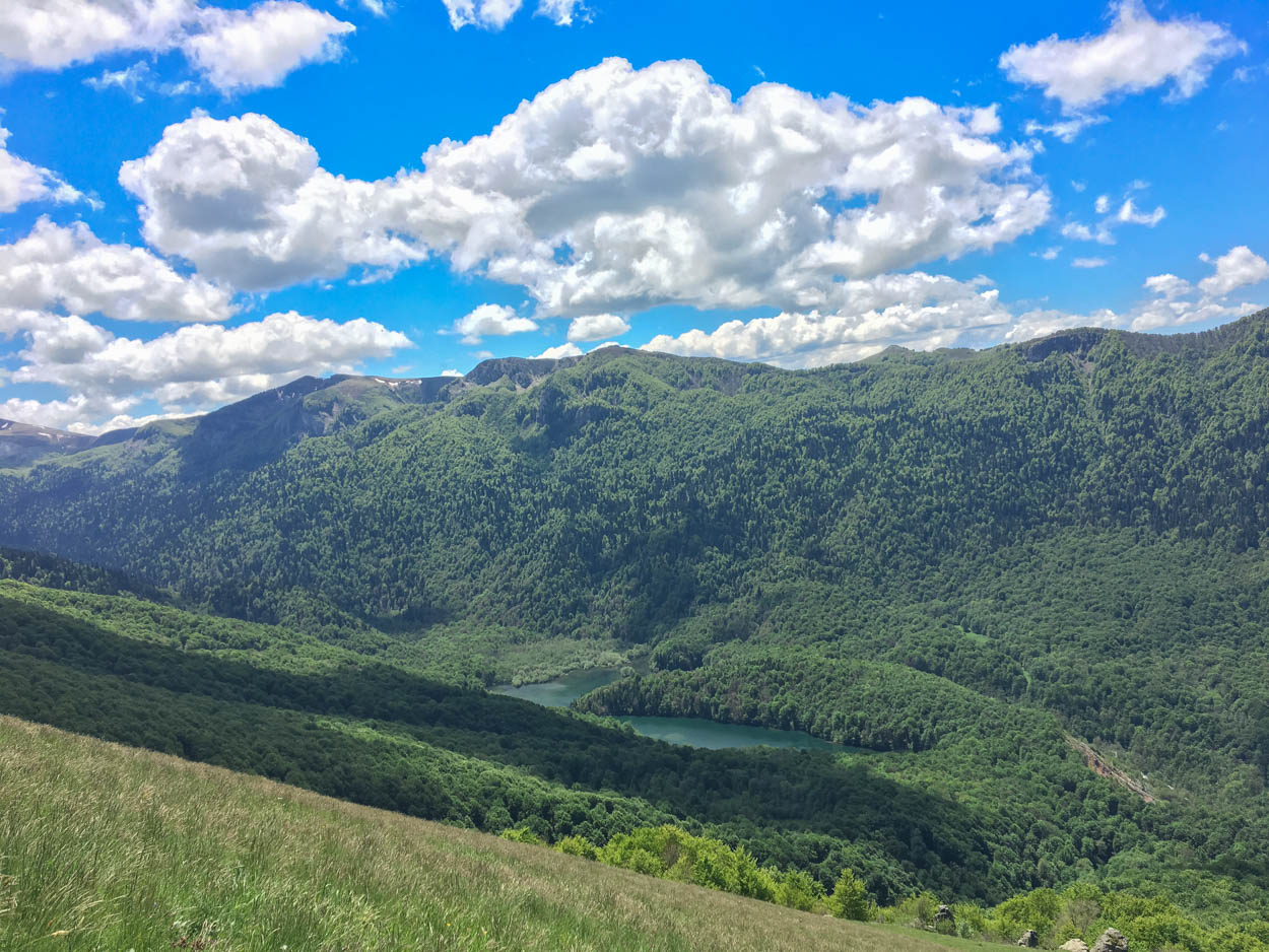 Views along the Mojkovac Trail in Biogradska Gora National Park