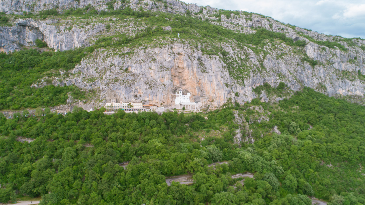 Ostrog Monastery near Niksic, Montenegro