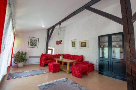 Shared open living area in Terra Antica farm stay in Bosnia and Herzegovina