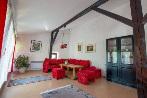Shared open living area in Terra Antica farm stay in Bosnia and Herzegovina