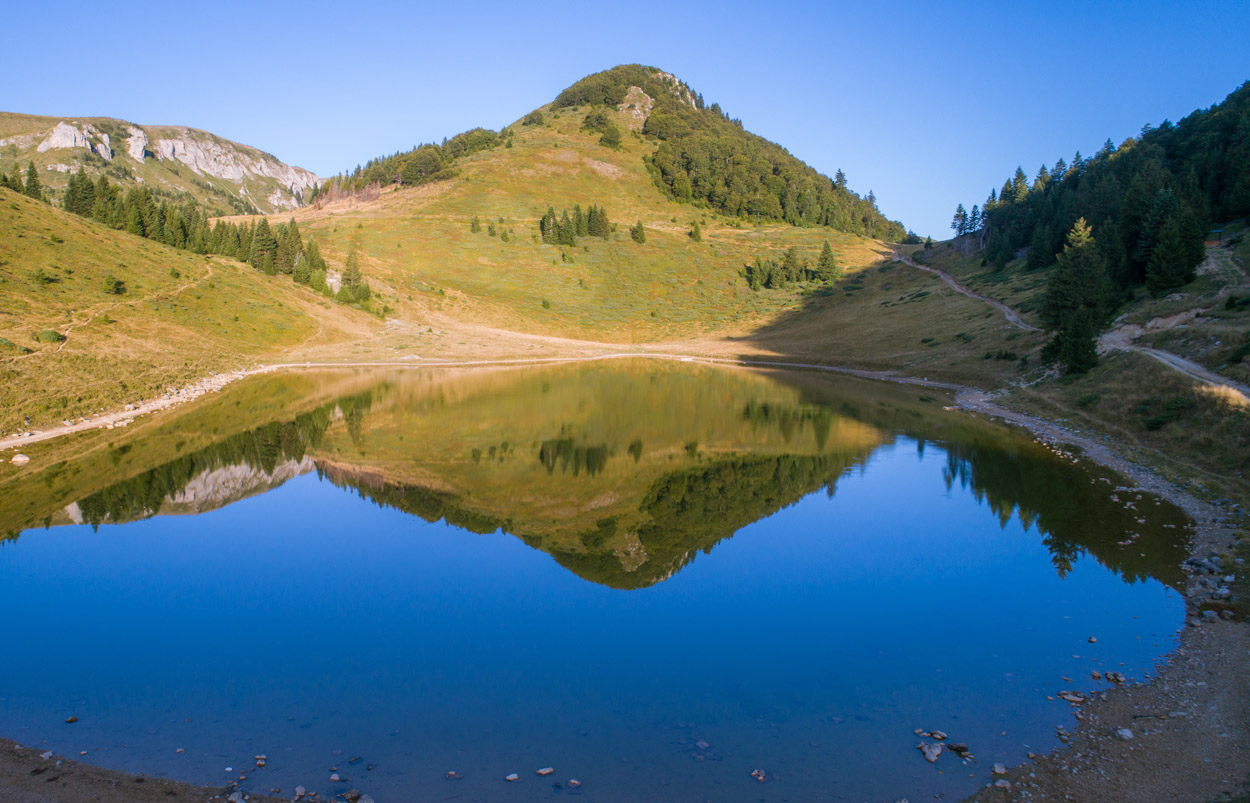Susica Glacial Lake in Biogradska Gora National Park