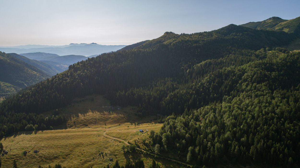 Rakovic Katun in Biogradska Gora National Park, Montenegro