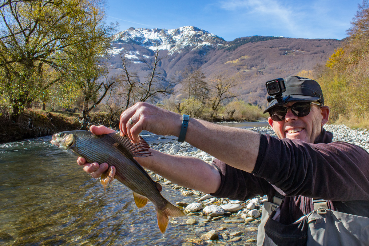 Crazy Good Fly Fishing in Montenegro includes catching a grayling