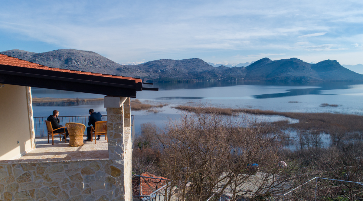 Radunovic Skadar Lake House in Montenegro
