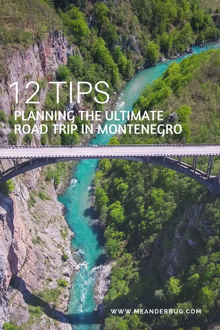 tips for ultimate road trip in Montenegro