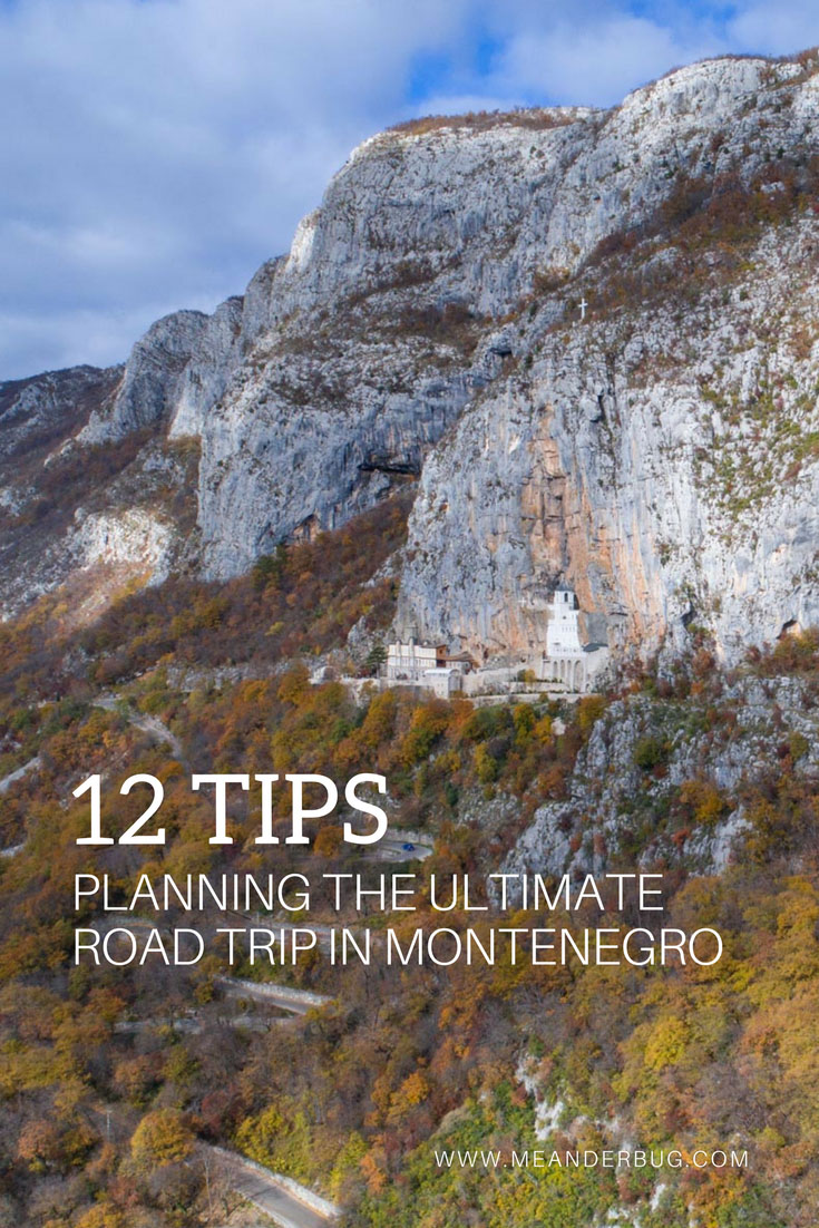 key tips for road tripping in Montenegro