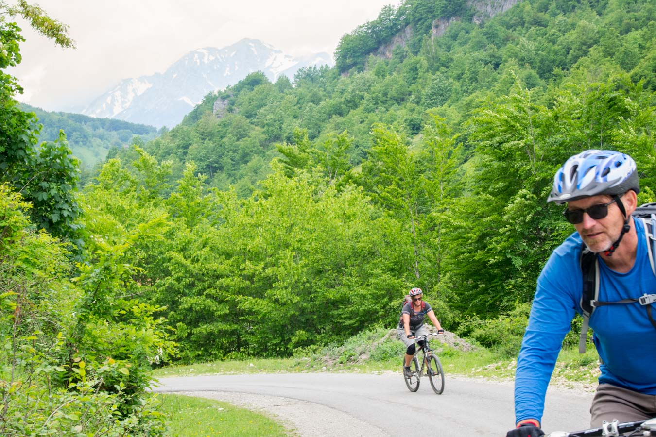 MTB Advventure cycle touring Montenegro - Andrijevica