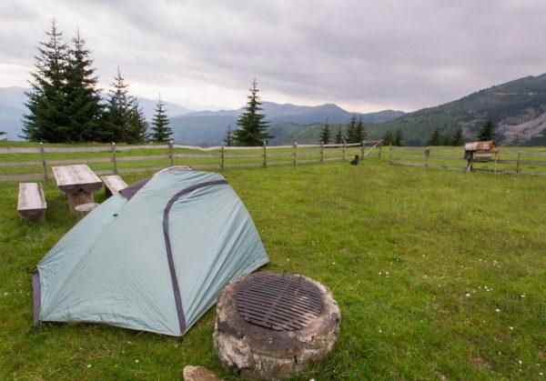 View from camping at Cakor Katun