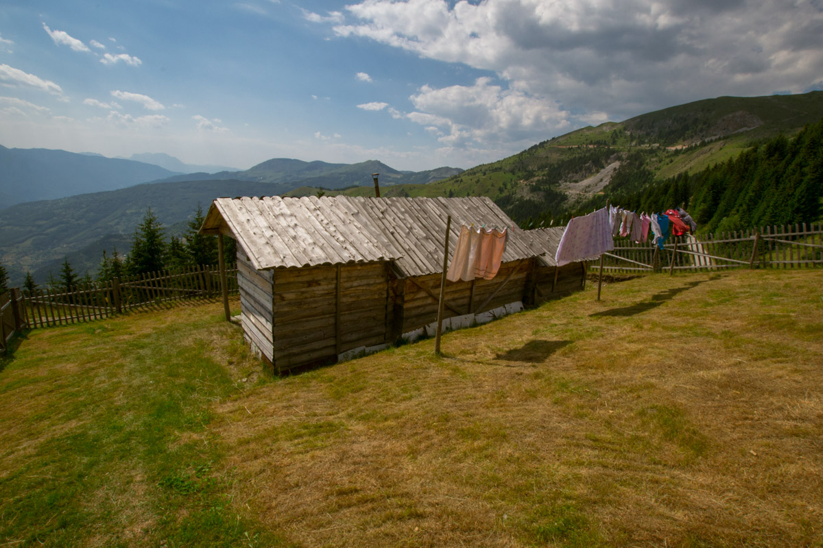 Cakor Katun for thru hiking in Montenegro