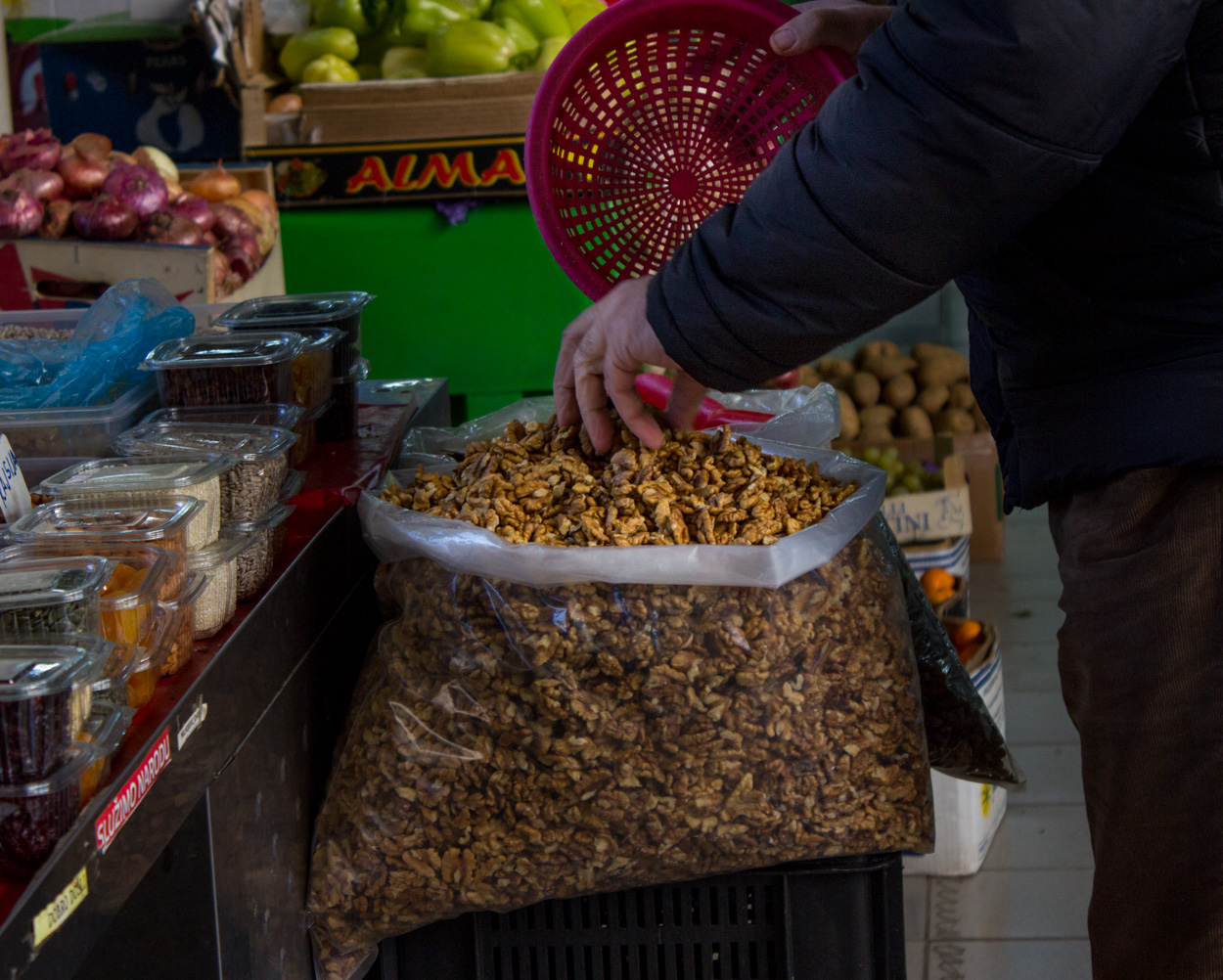 Gintaz Farmers market in Podgorica
