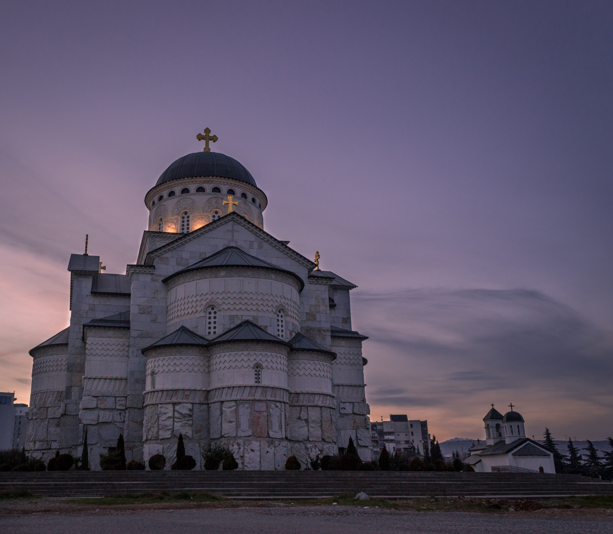 Largest Serbian Orthodox Hram or Cathedral in Montenegro